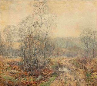 Wilson Henry Irvine (American, 1869-1936) Spring Scene