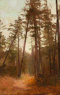 Homer Dodge Martin (American, 1836-1897) Tall Pines