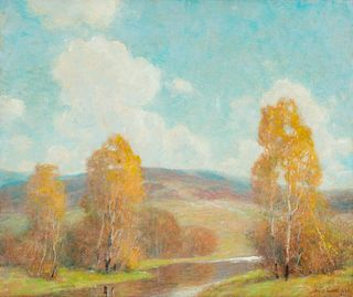 Ernest Albert (American, 1857-1946) October Clouds, 1931