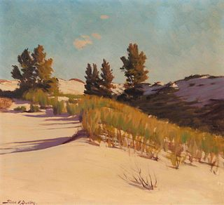 Frank Dudley (American, 1868-1957) Over the Hill and Hallow