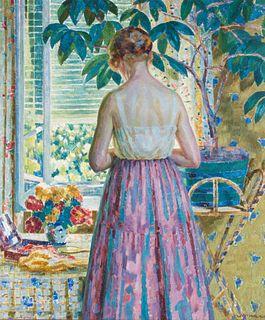 Louis Ritman (American, 1889-1963) Lady by a Window, 1918