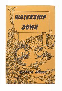 ADAMS, Richard (1920-2016). Watership Down. London: Rex Collings, 1972.