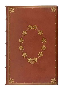 [DOVES BINDERY]. DICKENS, Charles (1812-1870). A Christmas Carol. In Prose. Being a Ghost Story of Christmas. London: Chapman & Hall, 1843.