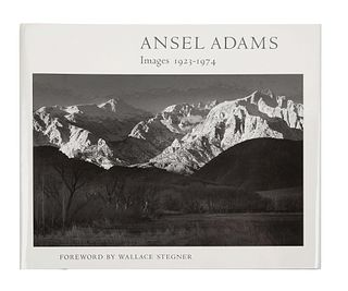 [FINE PRESS & LIVRE D'ARTISTE]. -- ADAMS, Ansel (1902-1984). Images 1923-1974. Boston: New York Graphic Society, 1974.
