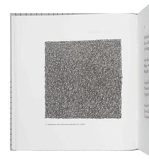 [FINE PRESS & LIVRE D'ARTISTE]. -- [ARION PRESS]. LEWITT, Sol (1928-2007), illustrator. -HEANEY, Seamus (1939-2013). Squarings, a sequence of forty-ei