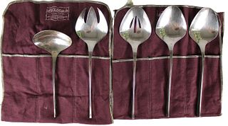5 Pc. International Sterling Server Set