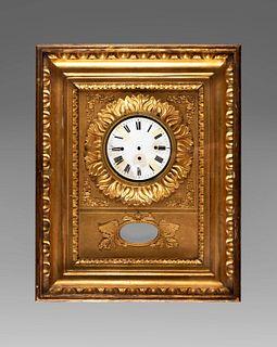 Wall clock, Vienna around 1820-30