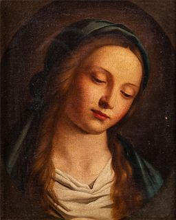 Maniera di Sassoferrato - Madonna