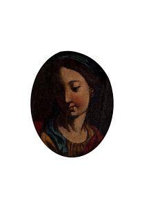 Scuola italiana, secolo XVIII - Praying Madonna