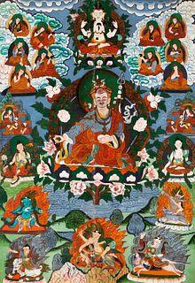 Tanka, Tibet 20th century