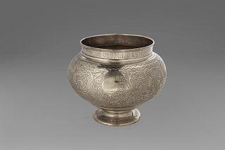 Silver vase, Russia 1888