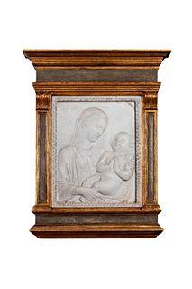 Scuola italiana, secolo XIX - Madonna with Child