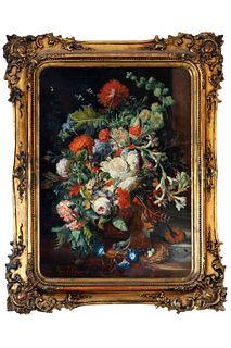 Da Jan Van Huysum, secolo XIX - Flowerpot