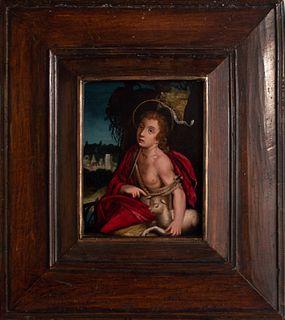 Scuola italiana, secolo XVII - San Giovannino
