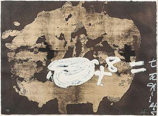 Antoni Tàpies (Spanish, 1923-2012)      Objectes