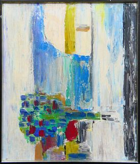 NICHOLAS STAEL RUSSIAN 1914-1955 OIL CANVAS