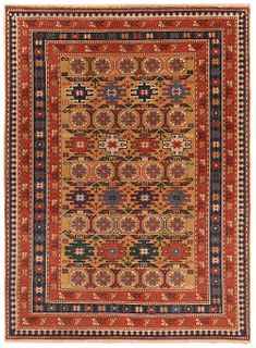 Antique Caucasian Shirvan Chi-Chi rug , 2 ft 8 in x 3 ft 7 in ( 0.81 m x 1.09 m )