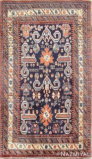 Antique Perpedil Caucasian Shirvan , 2 ft 5 in x 4 ft (0.74 m x 1.22 m)