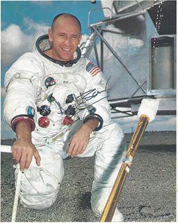 A GROUP OF THREE NASA PRINTS, APOLLO 12, ONE SIGNED, ALAN L. BEAN, 1963-1973,