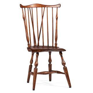 A Braceback Windsor Chair