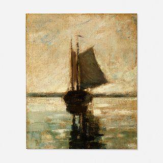 Robert Loftin Newman, Ship at Sea