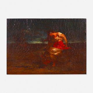 Robert Loftin Newman, Figure in a Landscape