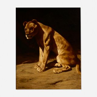 Marcus Waterman, On Guard: The Lioness