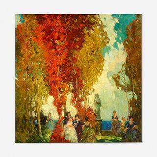 Frederick Milton Grant, Figures in a Landscape