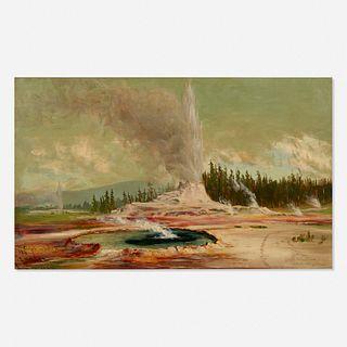 James Everett Stuart, Castle and Old Faithful Geysers, Devil's Well