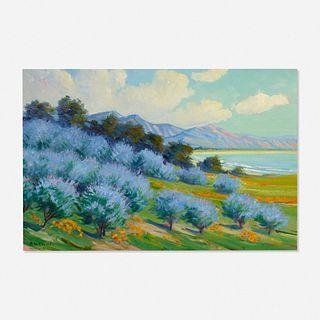 Arthur Hazard, Bay of Santa Barbara, California
