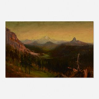 James Everett Stuart, Looking South from the Rim of Crater Lake, Oregon