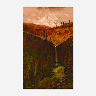 James Everett Stuart, Mount Hood and Winthrop Falls