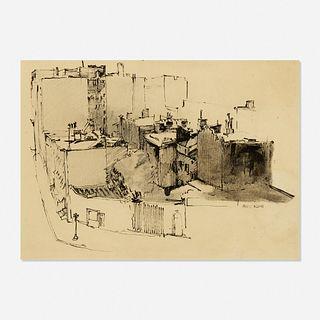 Franz Kline, Street Scene