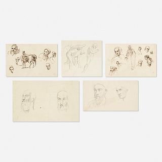 Frederick Goodall, five works