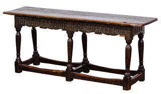 English Oak Bench