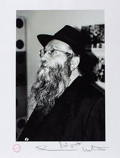 Hermann Nitsch (Vienna 1938)  - Self portrait