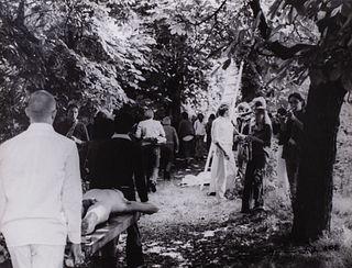 Hermann Nitsch (Vienna 1938)  - Performance, 1975