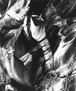 Paolo Monti (1908-1982)  - Roccia ossidata - 3, 1953