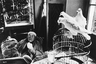Henri Cartier-Bresson (1908-2004)  - Henri Matisse, Vence, France, 1944