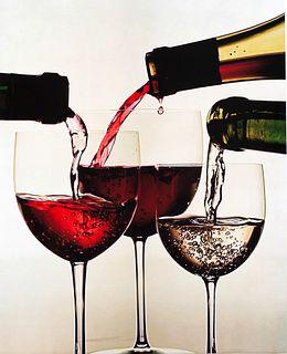 Irving Penn (1917-2009)  - Three wines of France, New York, 1953