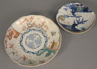 "Group of twenty-four Chinese porcelain plates to include set of twelve luncheon, 8 1/2"" dia. and twelve bread plates, 6 1/2"" dia. Estate of Marilyn Wa"