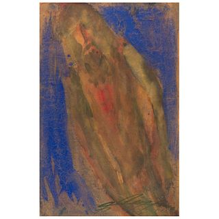 """CHUCHO REYES, Cristo, Signed, Aniline on tissue paper, 29.5 x 19.4"""" (75 x 49.5 cm), Certificate"""