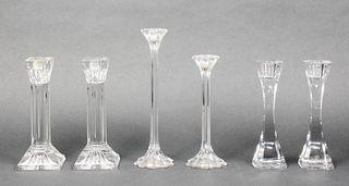 Crystal Candlesticks Incl. Waterford, Reidel, 6