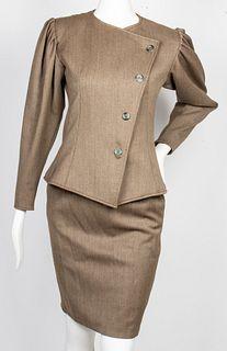Emanuel Ungaro Women's Skirt Suit, 2 Pieces