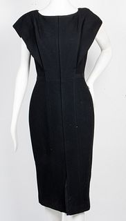 Atelier Caito for Herve Pierre Wool Crepe Dress