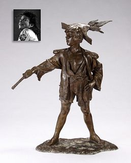 Peter Pan, Bronze, ex. Michael Jackson