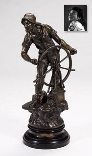 Braving the Storm, Bronze, ex. Michael Jackson