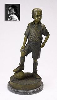 The Footballer, Bronze, ex. Michael Jackson