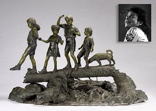 Follow the Leader, Bronze, ex. Michael Jackson