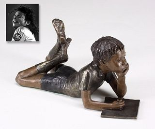 """Imagine,"" Bronze, ex. Michael Jackson"